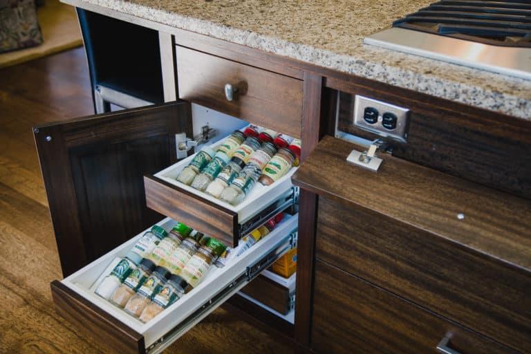 Salem Oregon | Kitchen, Pullout Organizer, Hidden Outlet