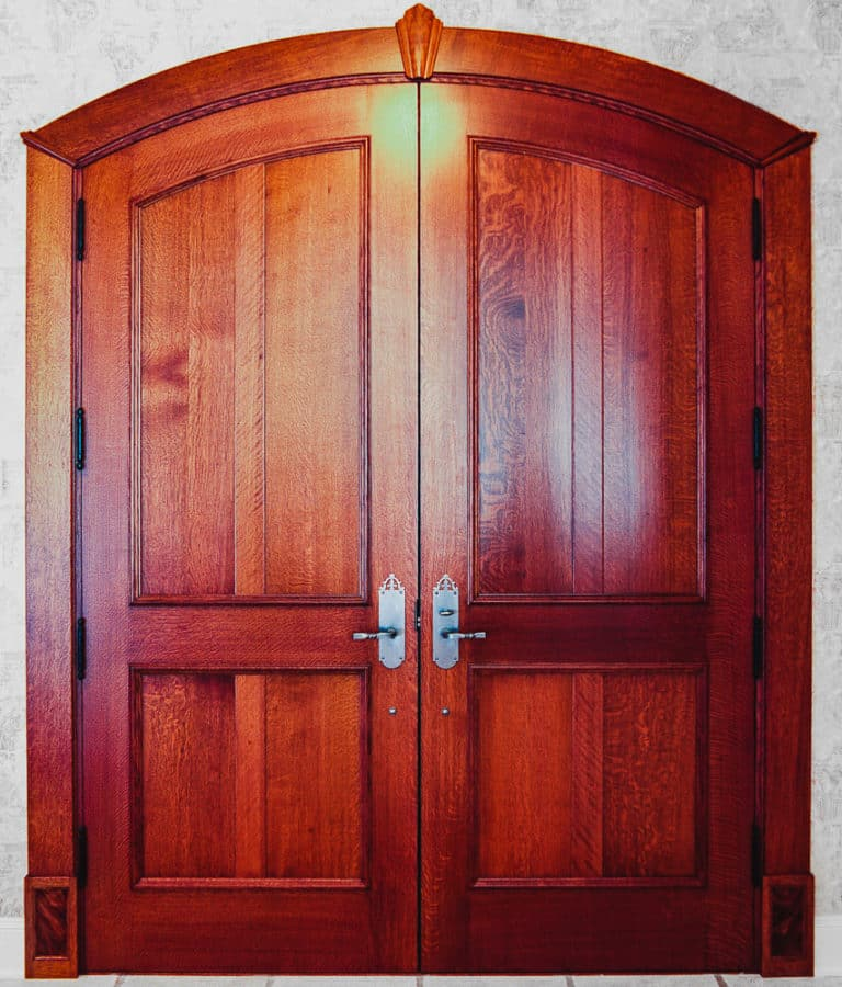 Custom Entryway Door