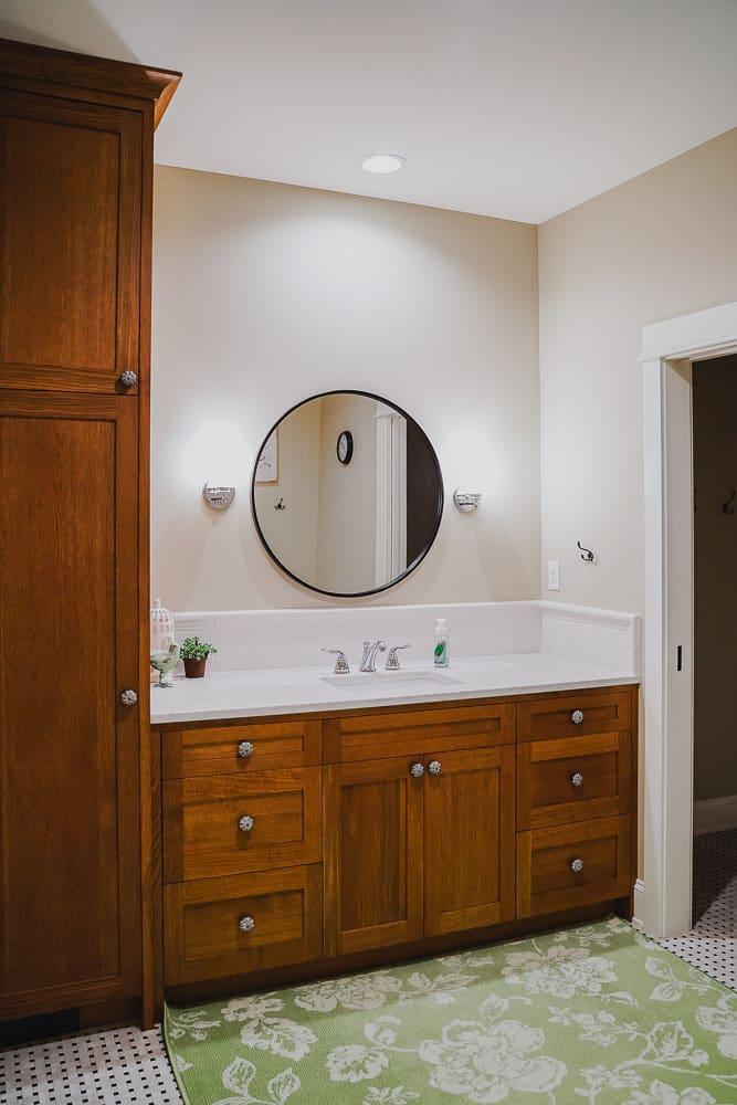 Silverton Oregon || Bathroom Cabinetry