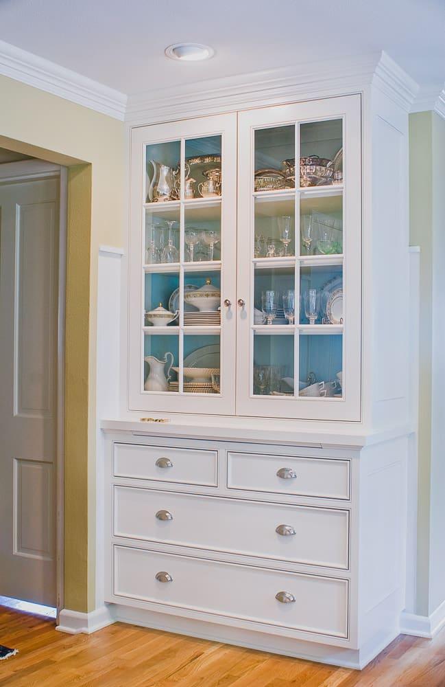 Salem Oregon |Built In Hallway Cabinets